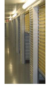 self storage hallway